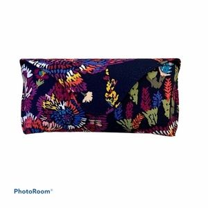 Vera Bradley Midnight Wildflowers Eyeglass Case